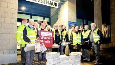 Streik der Zeitungszusteller